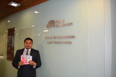 Entrevista en Radio Educación
